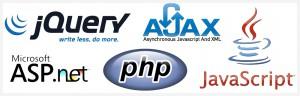 Logos lenguajes de programación aplicación web