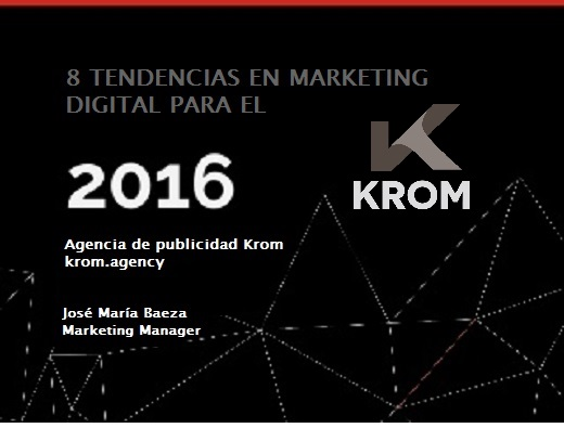 marketing online 2016