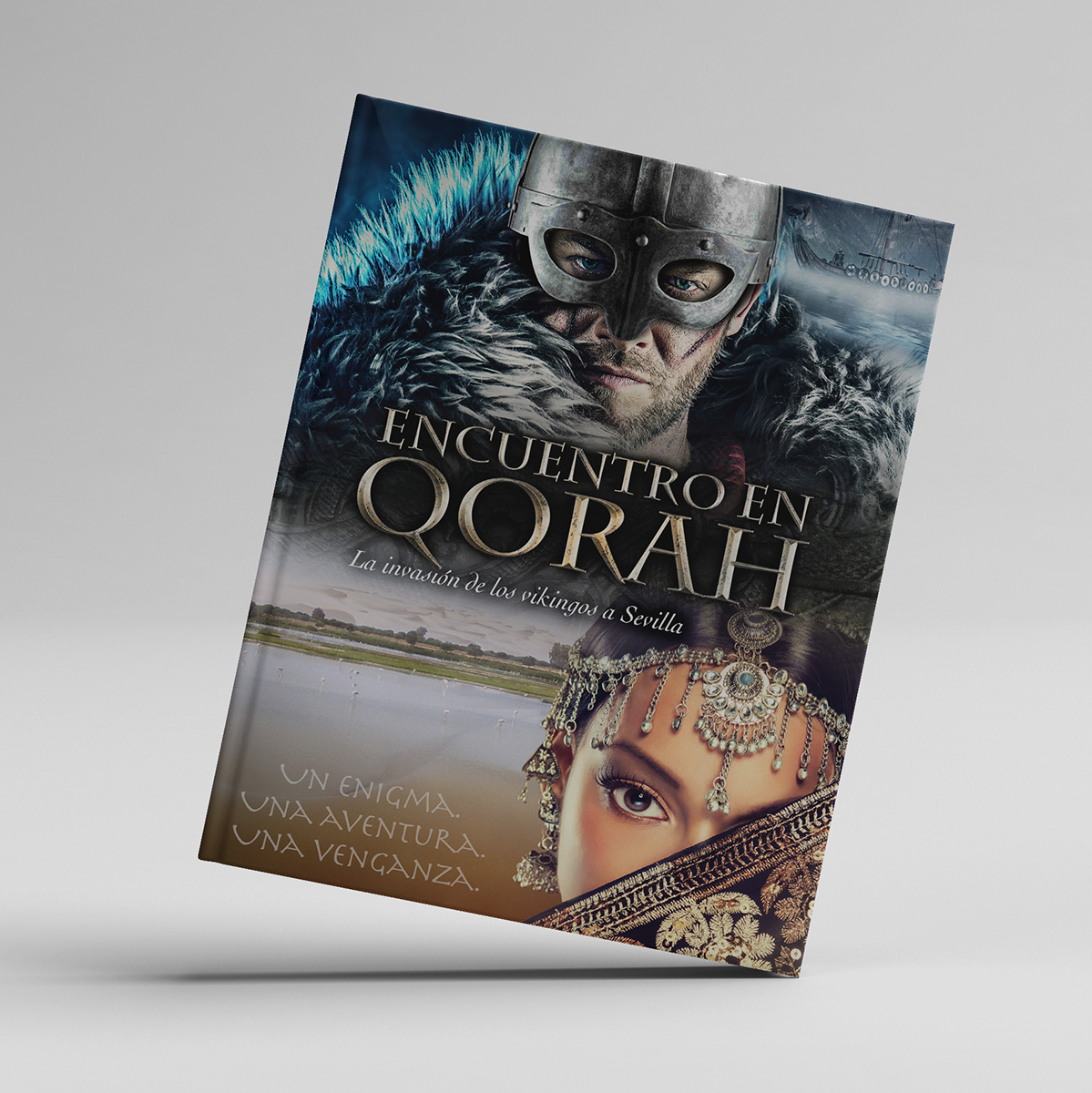 """Portada del libro """"Encuentro en Qorah"""""""