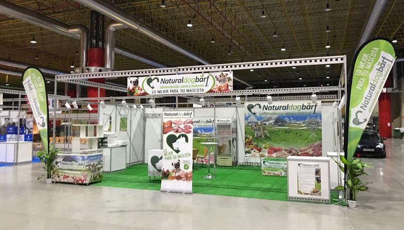 Evento feria Expocachorro Alicante 2016 para Naturaldogbarf