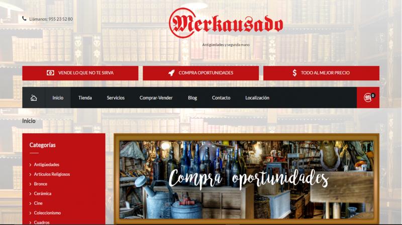 Diseño web Merkausado