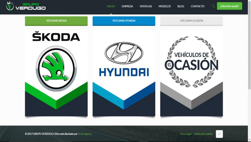 Nueva web para Autos Verdugo