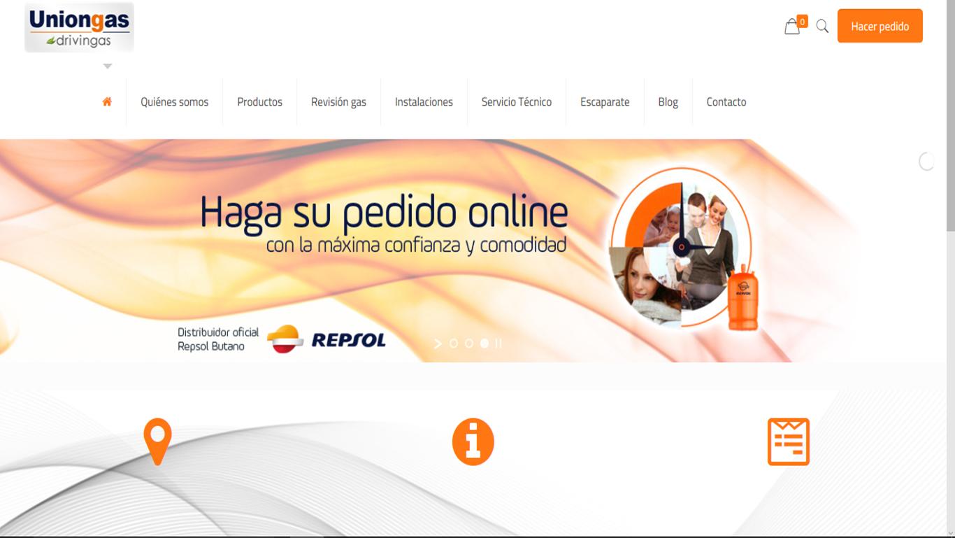 Tienda online para UNIONGAS – Repsol Sevilla y Huelva