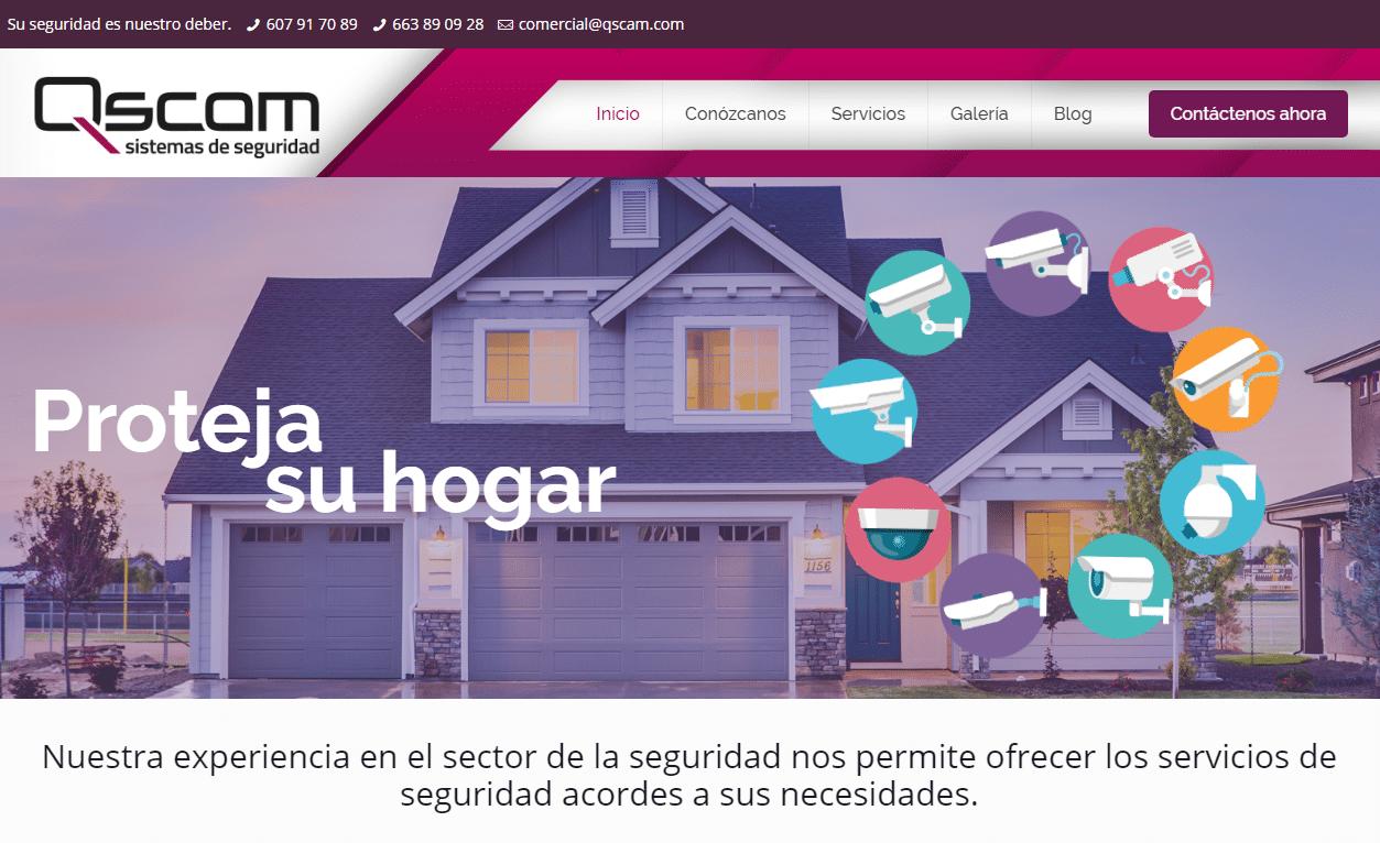 Nueva Web para Qscam