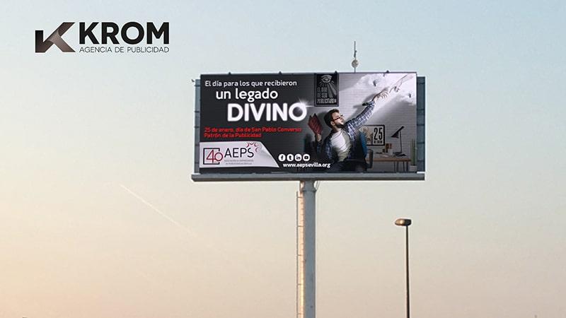 Publicidad Exterior en Sevilla campaña AEPS