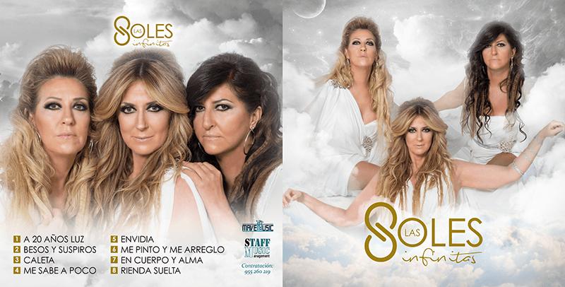 Imagen y libreto Nuevo disco de Las Soles – Infinitas