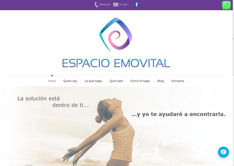 Web para Espacio Emovital