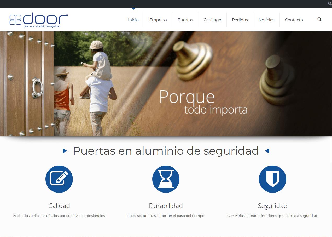 Web para Door Puertas