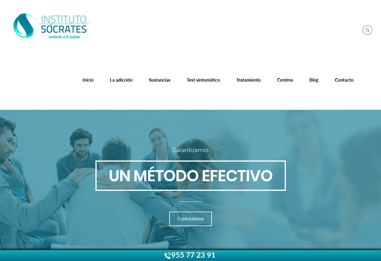 Web para Instituto Sócrates