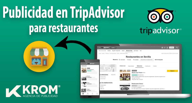 Publicidad en Tripadvisor Restaurantes