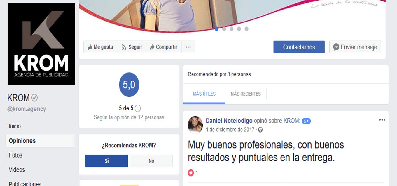recomendar en Facebook