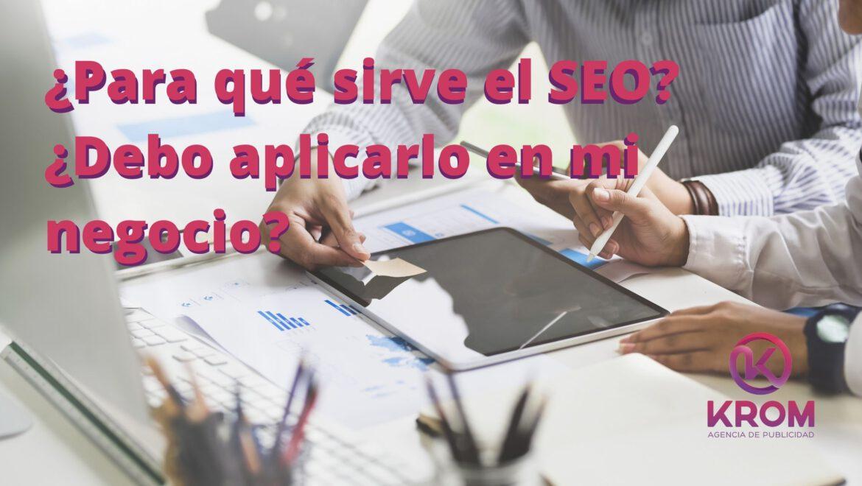 importancia del seo en los negocios digitales