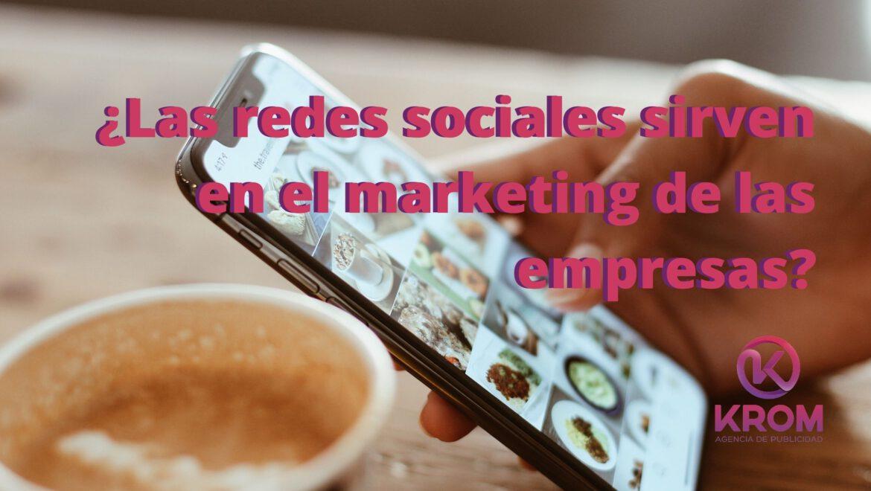 redes sociales como estrategia de marketing empresas
